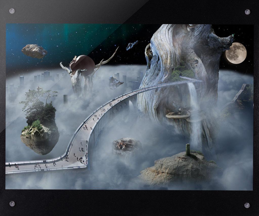 樹木に逝きかう生死2012年 東急ハンズ渋谷店 出展作品